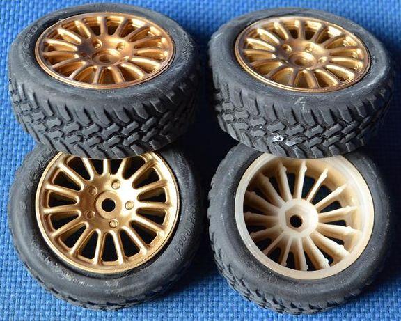 Jogos jantes e pneus para escala 1/10 novos