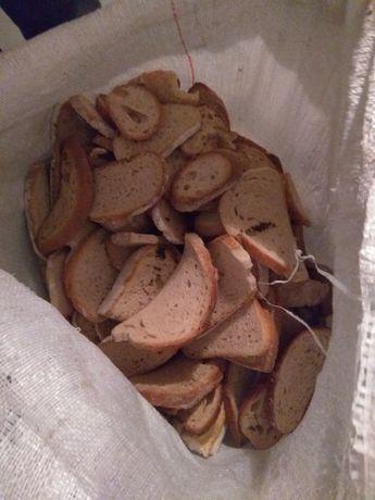 Suchy chleb dla zwierząt