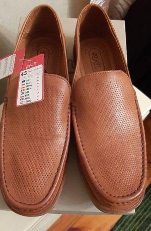 НОВЕ Шкіряне чоловіче взуття Go SOFT- 43 розмір