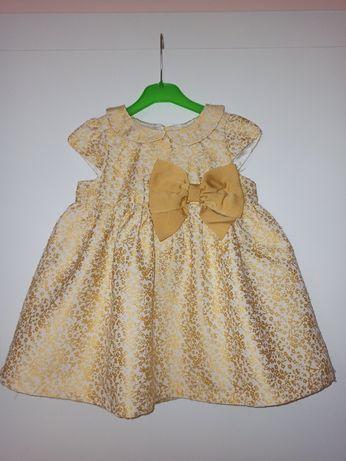 Piękna sukienka, h&m rozm. 80