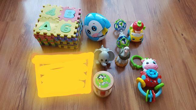 Zabawki grzechotki Fisher Price komplet