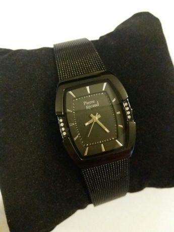 Zegarek damski czarny Pierre Ricaud