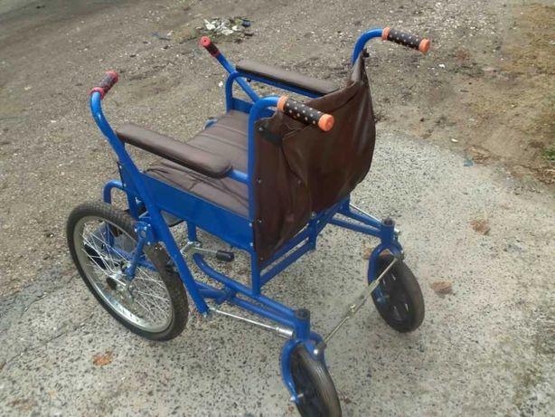 Продам новую дорожную инвалидную коляску (КДСВ) для улицы и квартиры