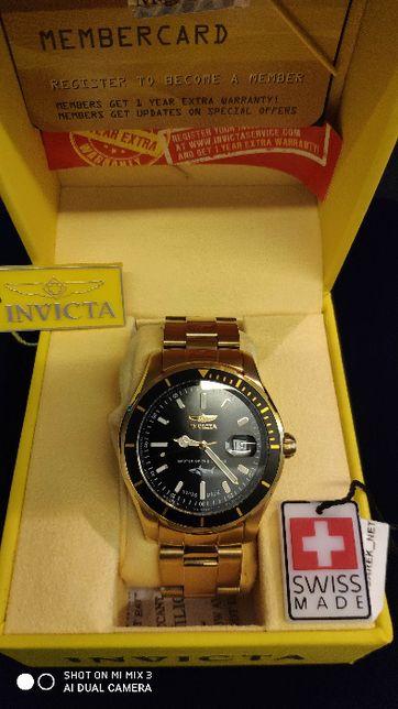 Zegarek INVICTA IN25810 kolor złoty