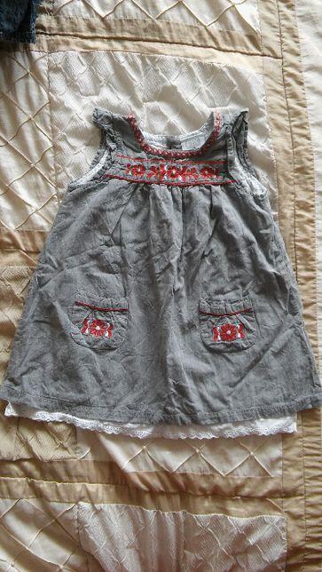 Śliczna sukienka 98 cm