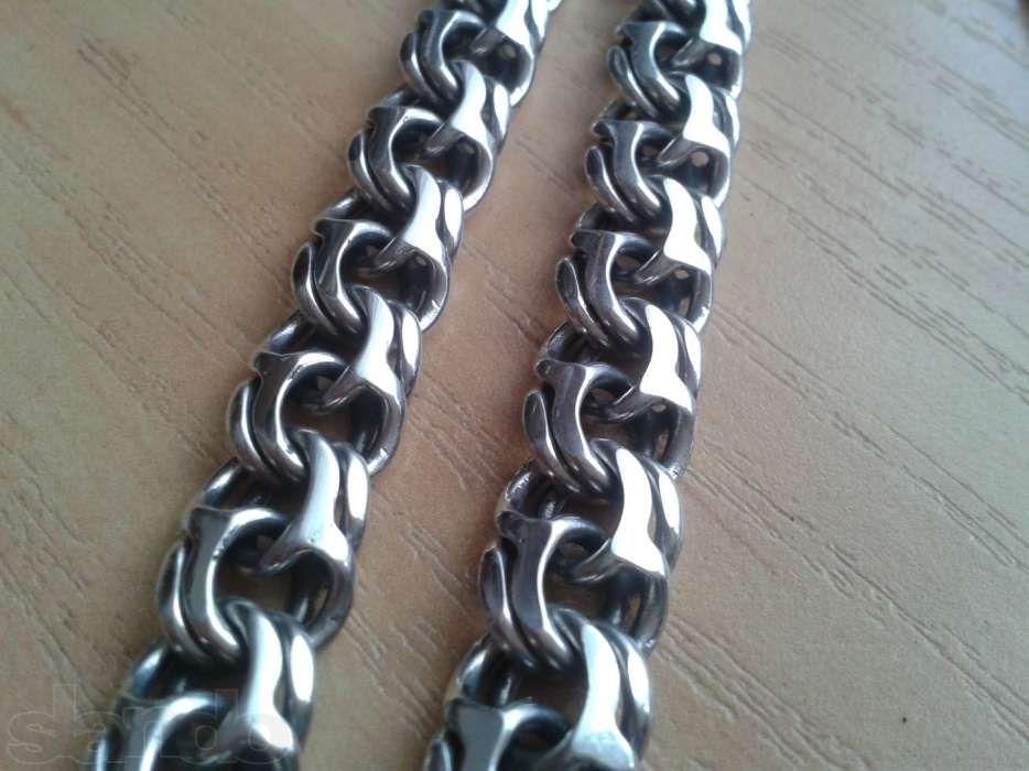 Серебряная цепочка БИСМАРК 69,5грамм 61см Винница - изображение 1