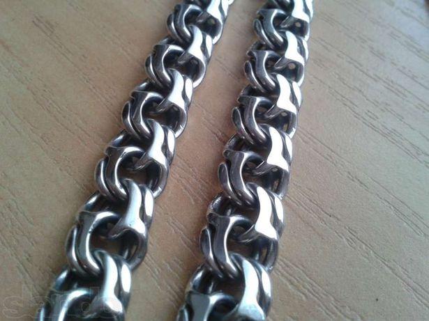 Серебряная цепочка БИСМАРК 69,5грамм 61см