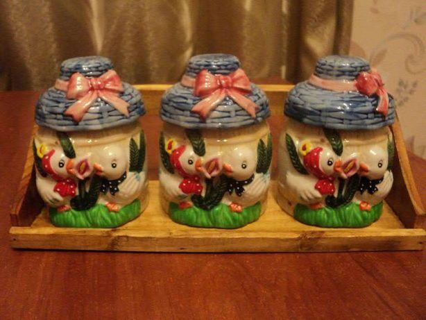 Продам набор для специй из керамики