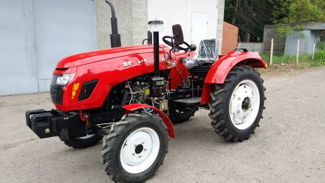 Трактор ХТ244 24к.с., 3х цил., 4×4, НОВИЙ.
