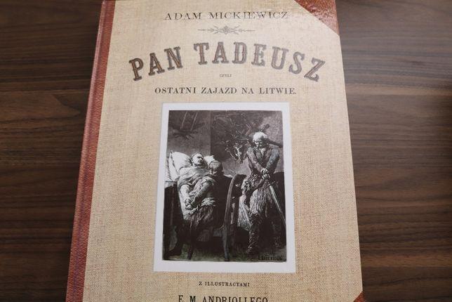 Pan Tadeusz Adam Mickiewicz piękne wydanie!