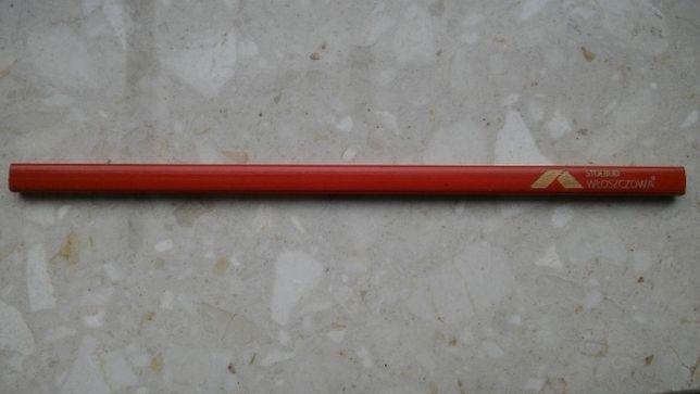 Ołówek czerwony z logiem firmy