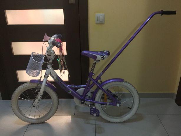 Rower dla dziewczynki 16  cali Starlet Jaśminem Fioletowy