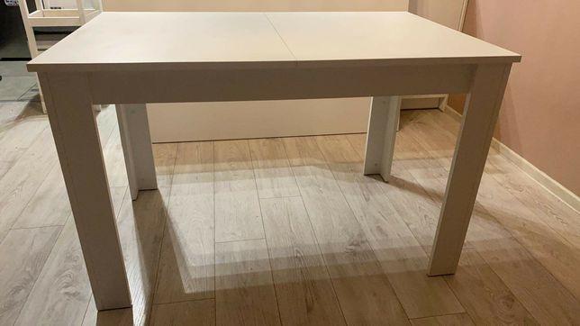 Stół biały rozkładany