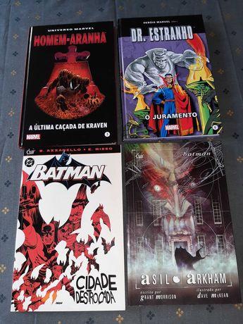 Livros Marvel, capa dura, em excelente estado