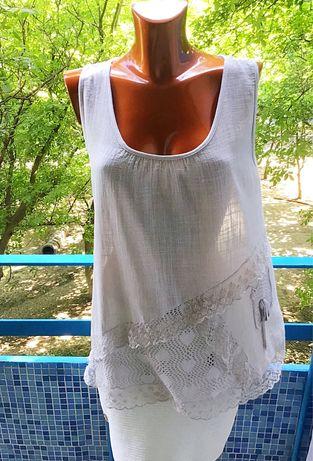 Летняя блуза из хопка от Pronto Moda