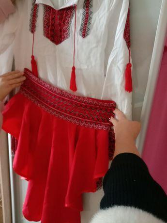 Плаття в украинском стиле для девочки 11-15 лет 44-46 р.