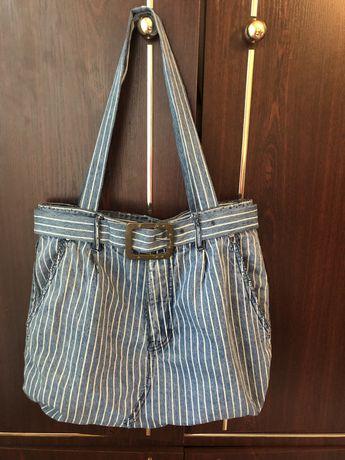 Оригинальная эко-сумка, торба ,шопер pull&bear