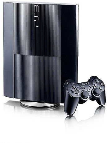 KONSOLA PS3 500GB SUPER SLIM 2 Pady Gwarancja