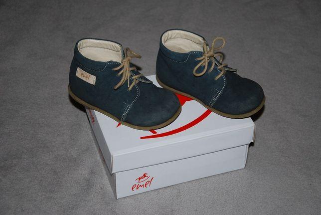 Buty chłopięce skórzane Emel rozmiar 23