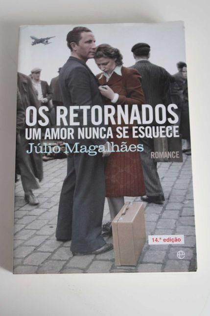"""Livro- """"Os retornados um amor nunca se esquece"""""""