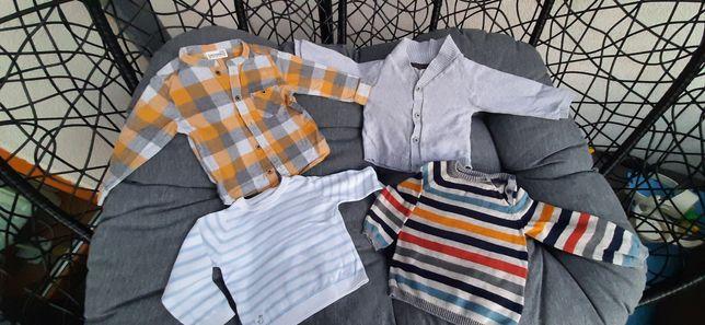 Ubranka sweter koszula 80cm