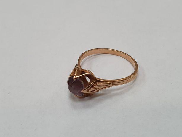 Retro! Piękny złoty pierścionek damski/ 3.39 gram/ R20/ sklep Gdynia