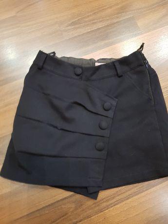 Школьные юбка-шорты для девочки