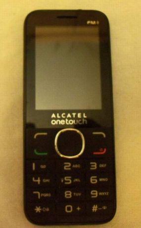 """Telefon ALCATEL OneTouch FM Czarny, """"uśpiony""""."""