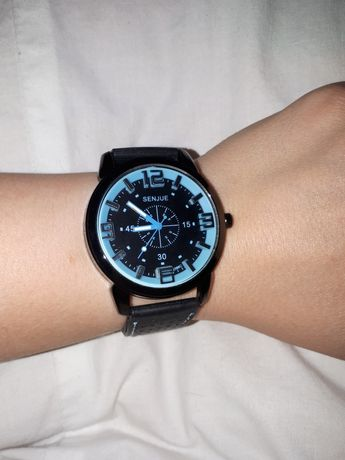 Zegarek sportowy gumowy pasek Nowy