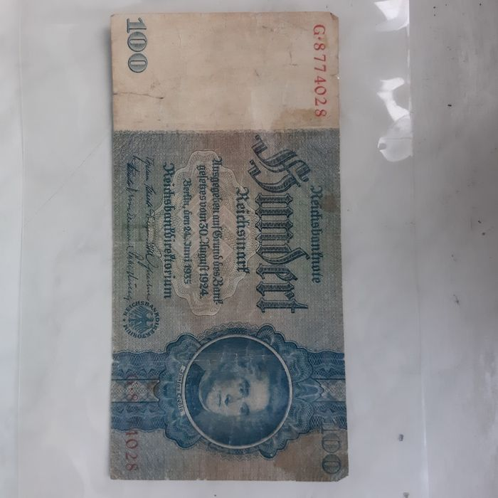 100 Marek Niemieckie  1935r Słubice - image 1