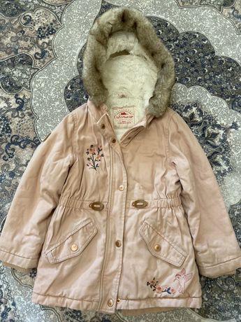 Куртка, парка, пальтишко George оригинал деми для девочки 4-5 лет