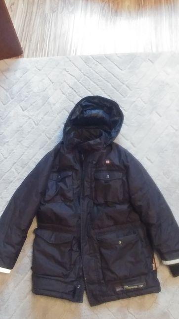 Chłopięca kurtka zimowa na wzrost 152cm