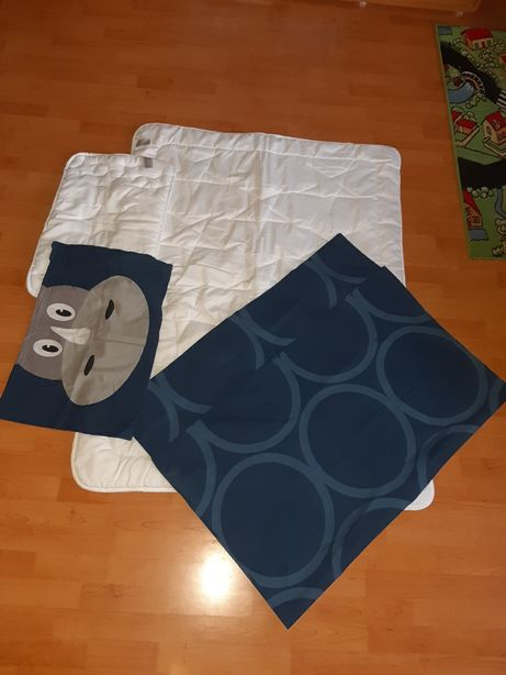 Pościel wypełnienie plus poszewki kołdra poduszka