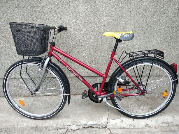 Велосипед из Германии Sunline. Планетарка Sachs 5