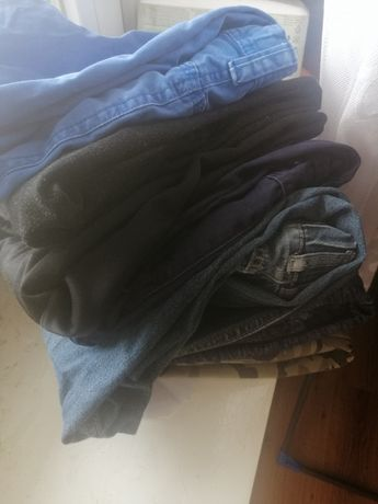 7 par spodni dla chłopca