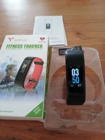 Yamay fitness tracker, pulsometr. Polecam