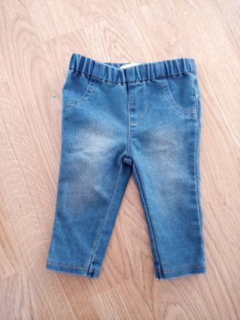 Spodenki jegginsy jeansowe r.62