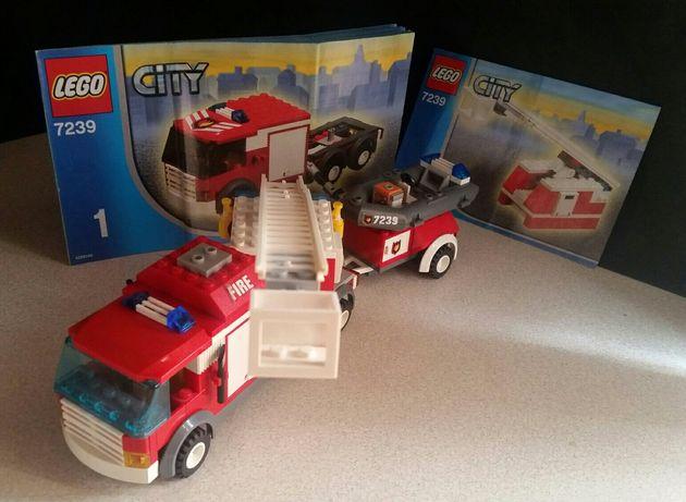 Lego straż pożarna zestaw 7239