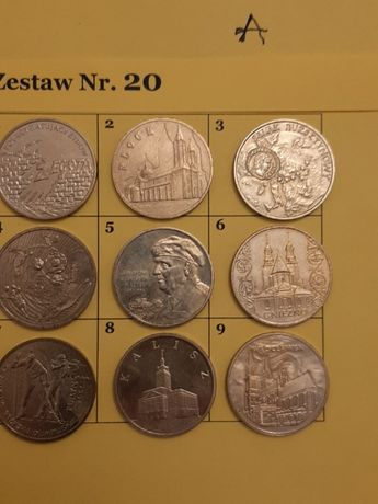 Monety - zestaw monet