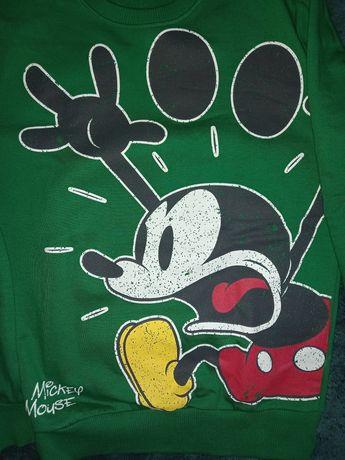 Zielona bluza Myszka Miki