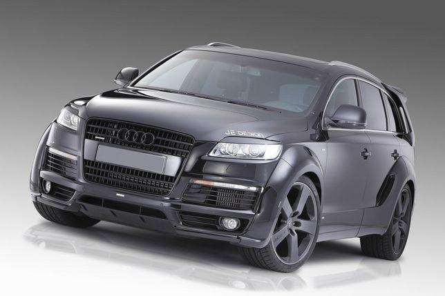Реснички, бровки, накладки на фары Audi Q7