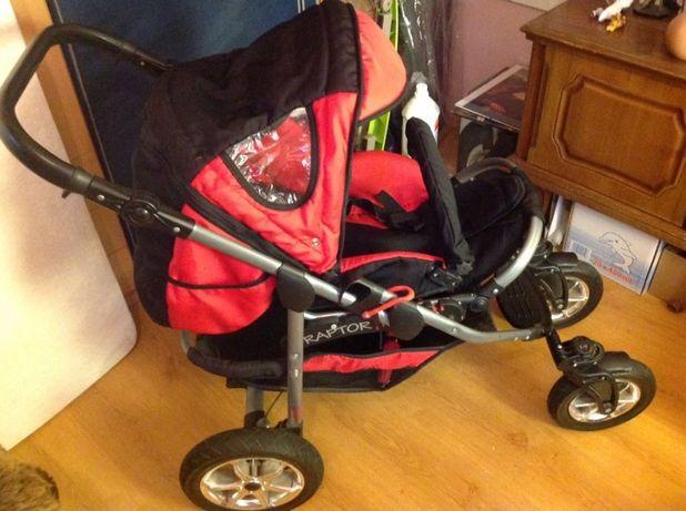 Wózek dziecięcy RAPTOR 3w1,,gratisy