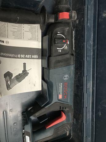 Mlotowiertarka akumulatorowa Bosch GBH 18 26D