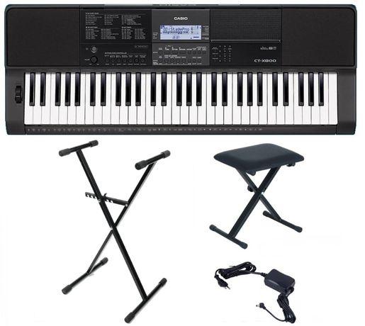 Keyboard Casio CT X800 Statyw Ława NOWY