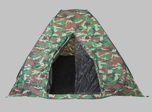 28031 Namiot SAMOROZKŁADAJĄCY SIĘ + MOSKITIERA 2.2x2.2m 5-6os.