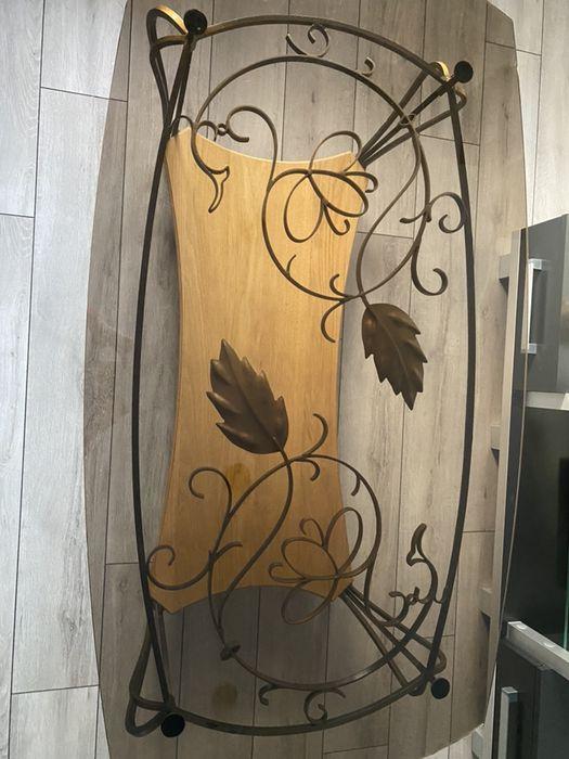 szklany stolik ślusarstwo artystyczne Nowy Sącz - image 1