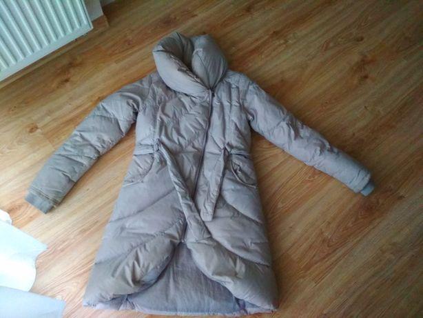 Płaszcz zimowy, kurtka, puchowa, pikowana, stradivarius