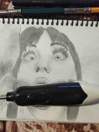 Рисую рисунки с стиле НЮ