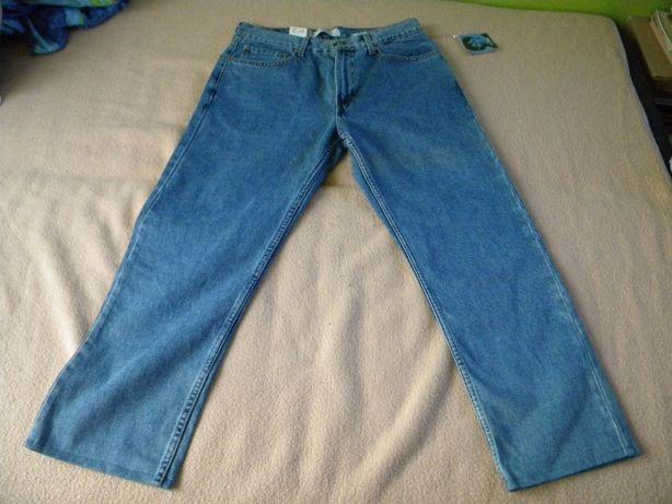 Spodnie Levis 505 nowe ze stanów rozmiar W34 L32 nogawki skracane