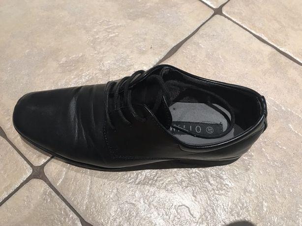 Buty chłopięce czarne
